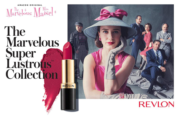 Revlon x Marvelous Mrs. Maisel