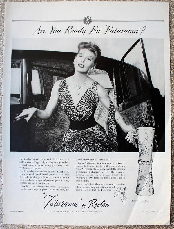 Revlon Futurama ad, 1958