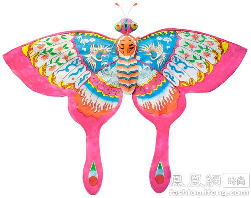 Butterfly kite by Zhang Xiaodong