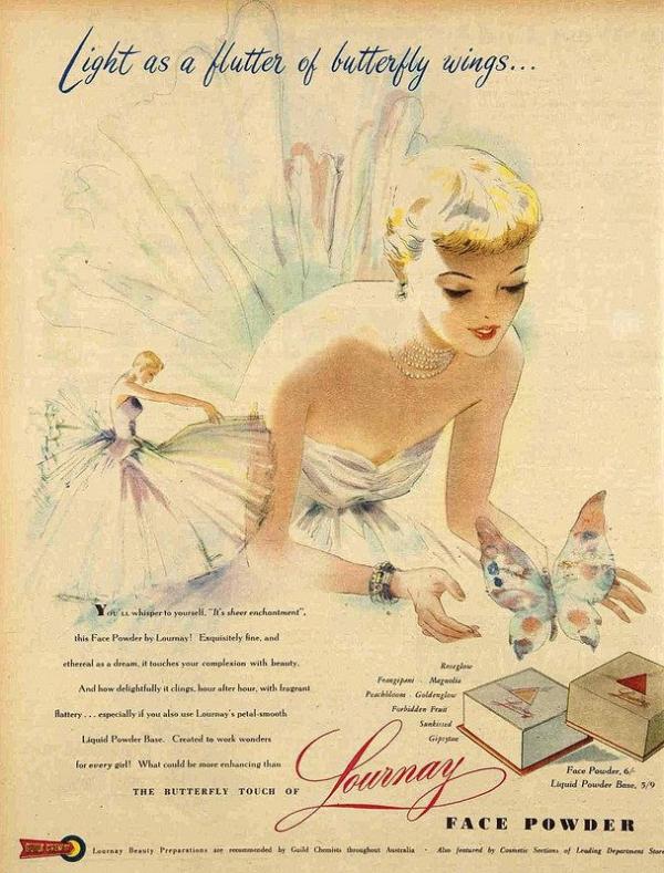 1940s Lournay ad