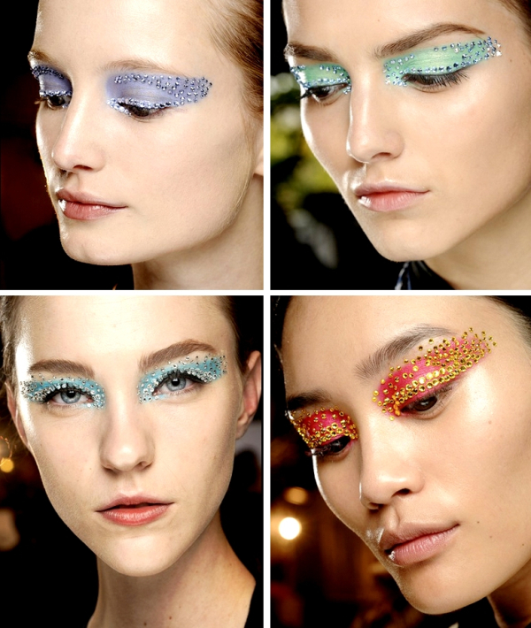 Dior spring 2013, makeup by Pat McGrath