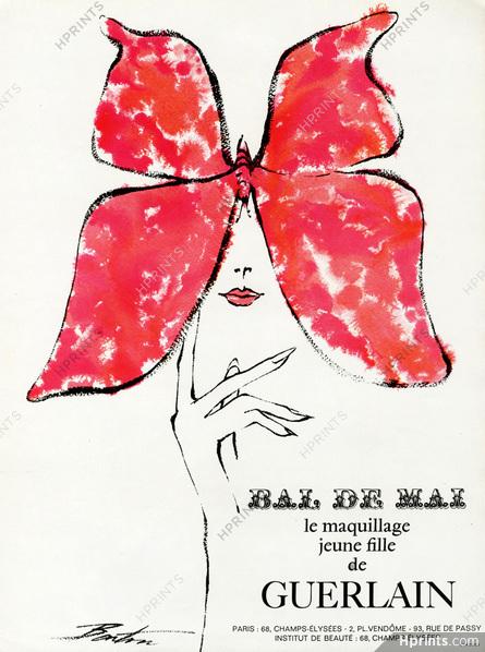 Guerlain ad, 1965