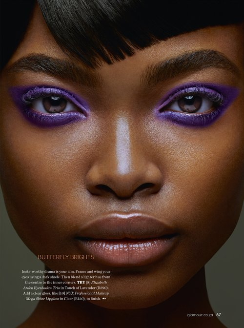 Makeup by Sheri Terry for Glamour New Zealand