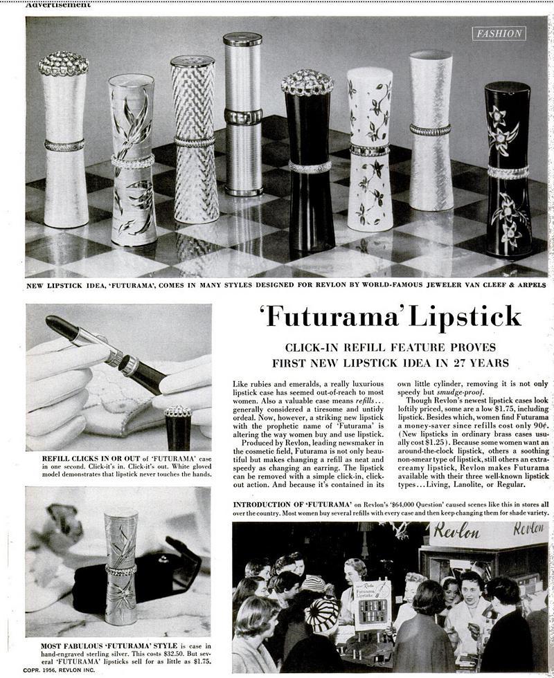 Revlon Futurama ad, 1956