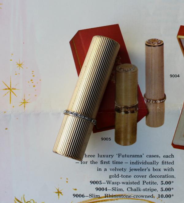 Revlon gold Futurama lipstick case