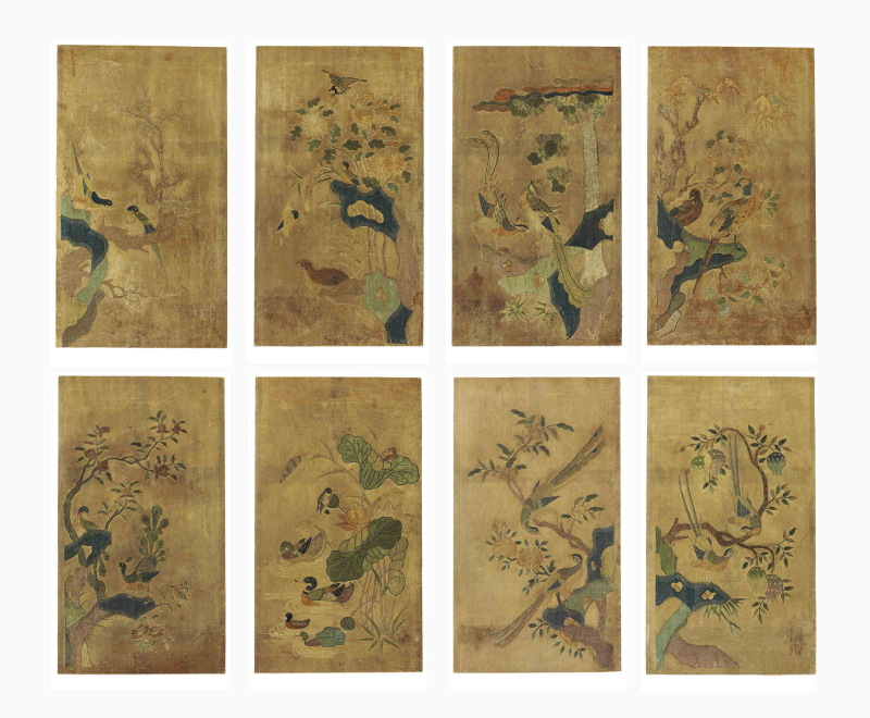 Hwajodo screen, 19th century