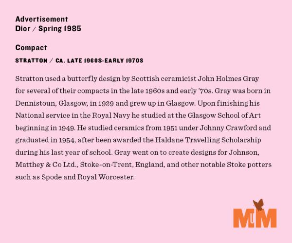 Makeup Museum spring 2020 exhibition label