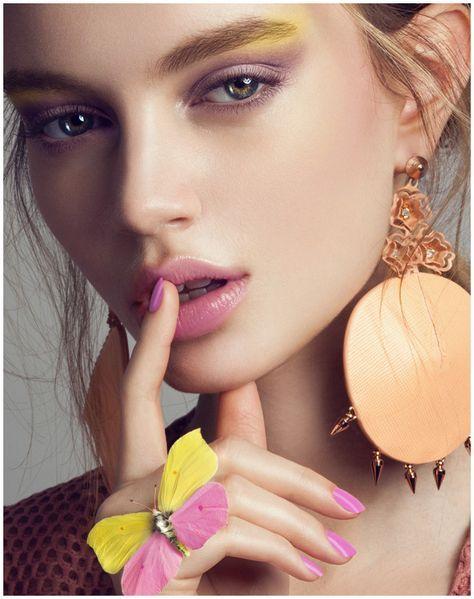 Quality Magazine, makeup by Hannah Burkhardt