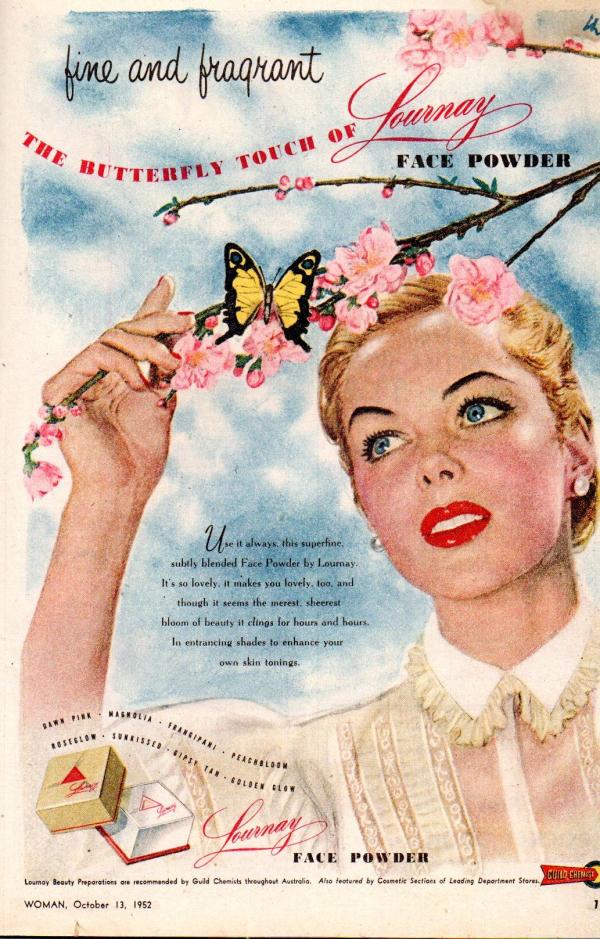 Lournay ad, 1952