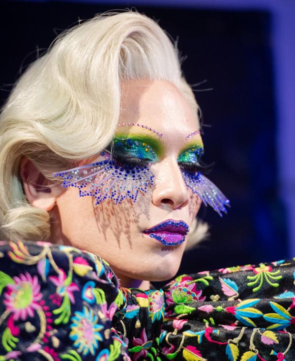 Manish Arora spring 2020, makeup by Kabuki
