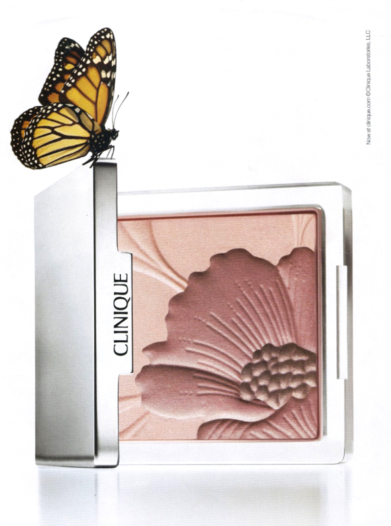 Clinique Fresh Bloom ad, spring 2007 - collection of the Makeup Museum