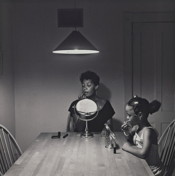 Carrie Mae Weems, image from Kitchen Table series, 1990