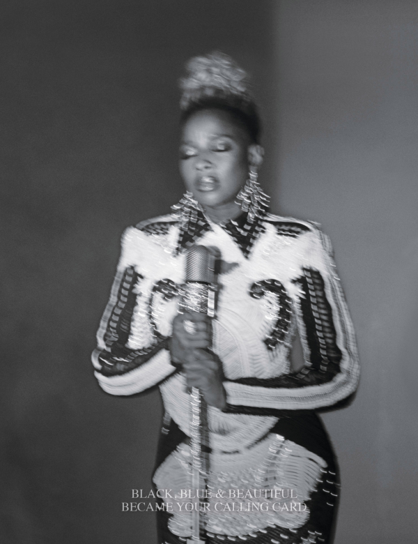 Carrie Mae Weems in conversation with Mary J. Blige for W. magazine, 2017