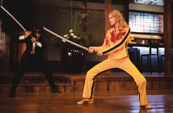 Kill Bill - Uma Thurman wearing Onitsuka Tigers
