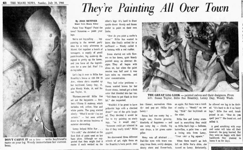 Miami News, July 10, 1966