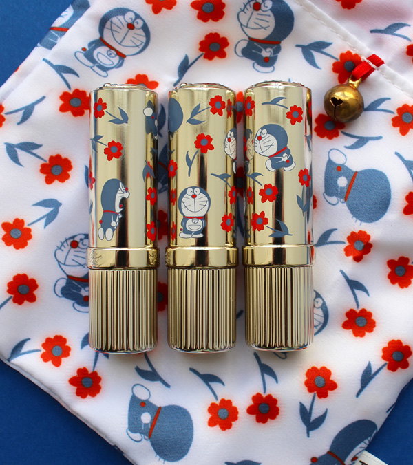 Paul & Joe Doraemon lipsticks