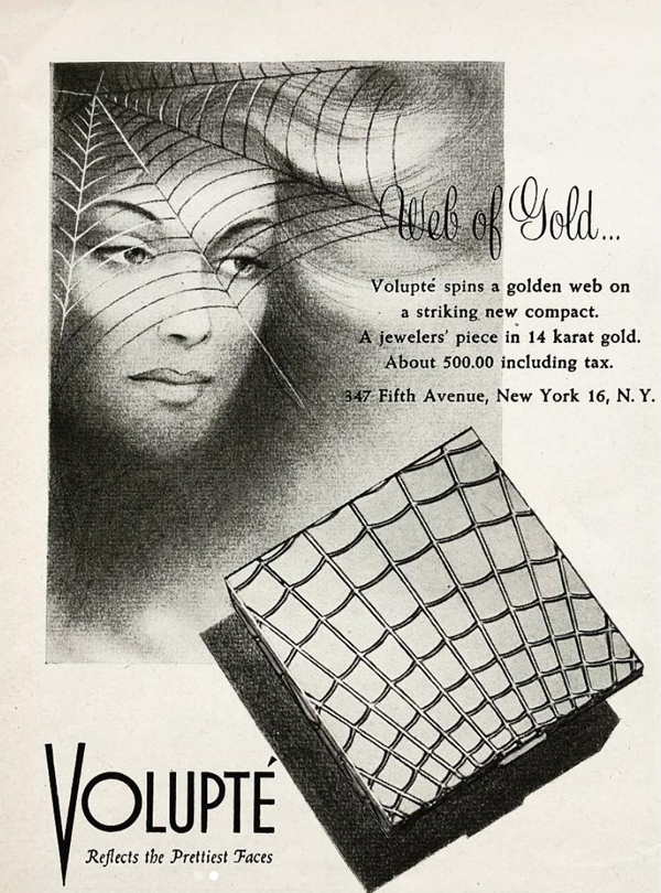 Volupte Web of Gold ad