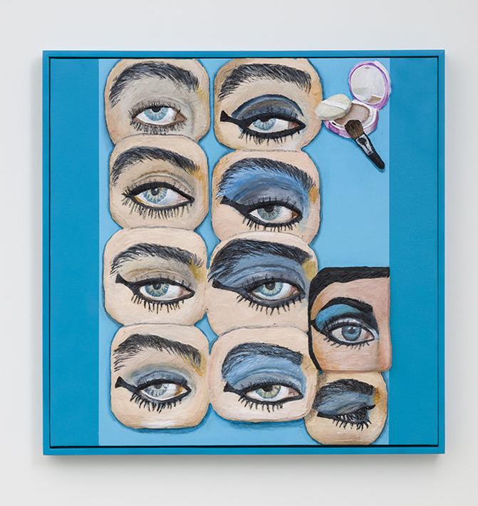 Gina Beavers, Cleopatra Eye, 2015