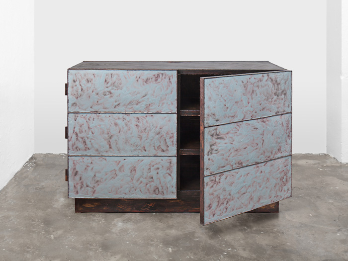 Kwangho Lee, cabinet from the Skin series, 2016