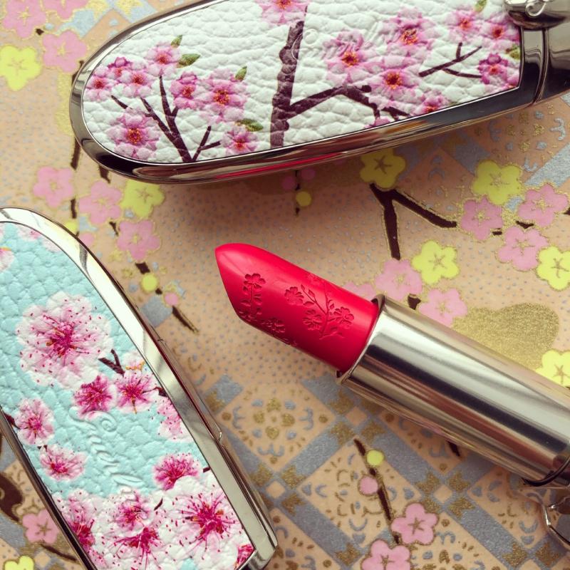 Makeup Museum collection - Guerlain Cherry Blossom lipsticks
