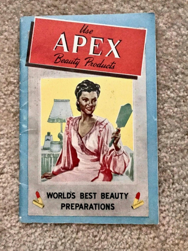 Vintage Apex beauty brochure