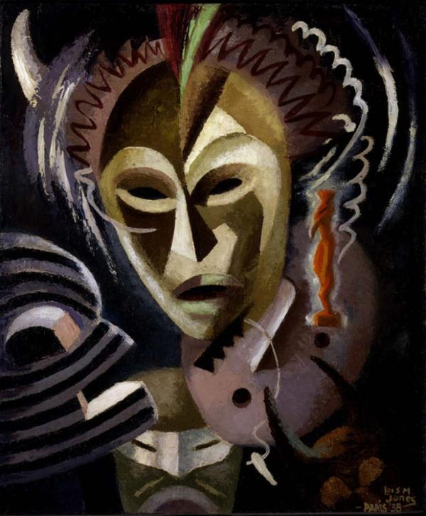 Lois Mailou Jones, Les Fetiches, 1938