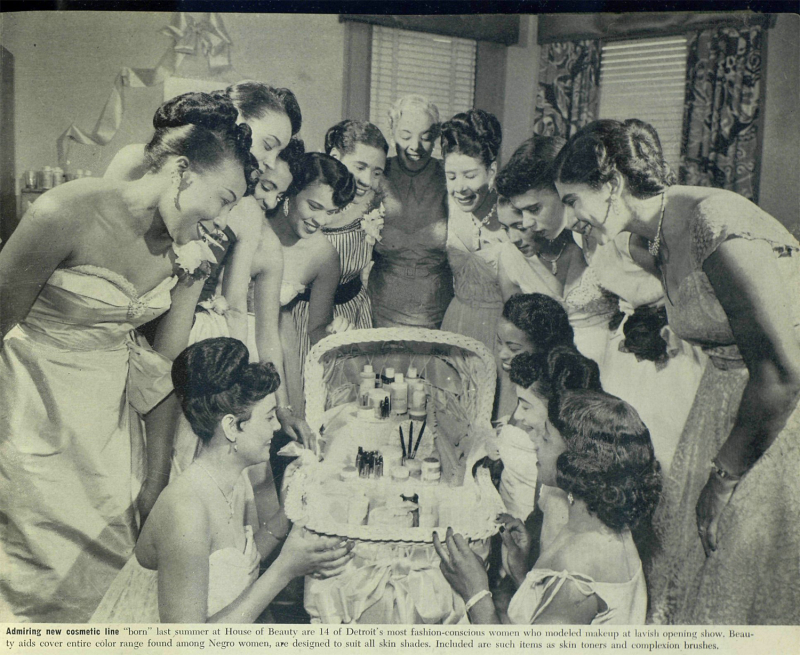 House of Beauty feature article, Ebony, 1951