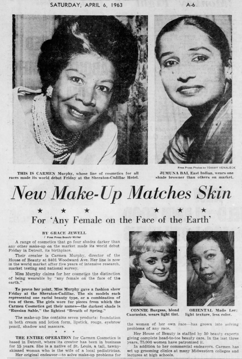Detroit Free Press, April 6, 1963