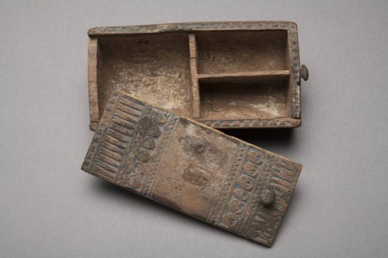 Wood cosmetics box, New Kingdom, Late 18th-19th Dynasty, ca. 1336-1186 BCE