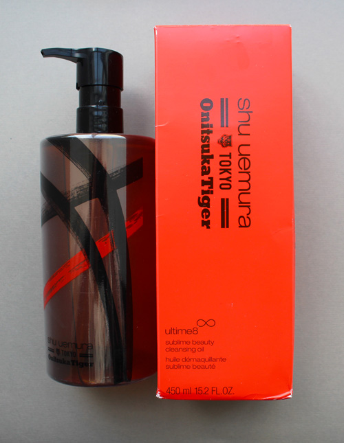 Shu Onitsuka Tiger cleansing oil