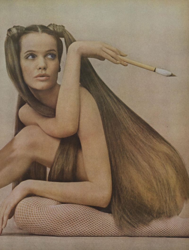 Leg Paint, Vogue, July 1966