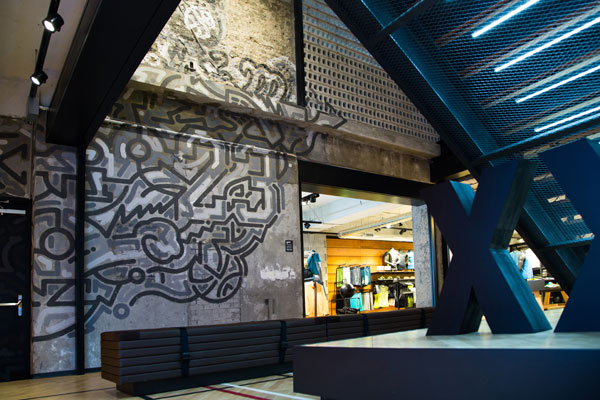 Yoon Hyup mural for Nike headquarters