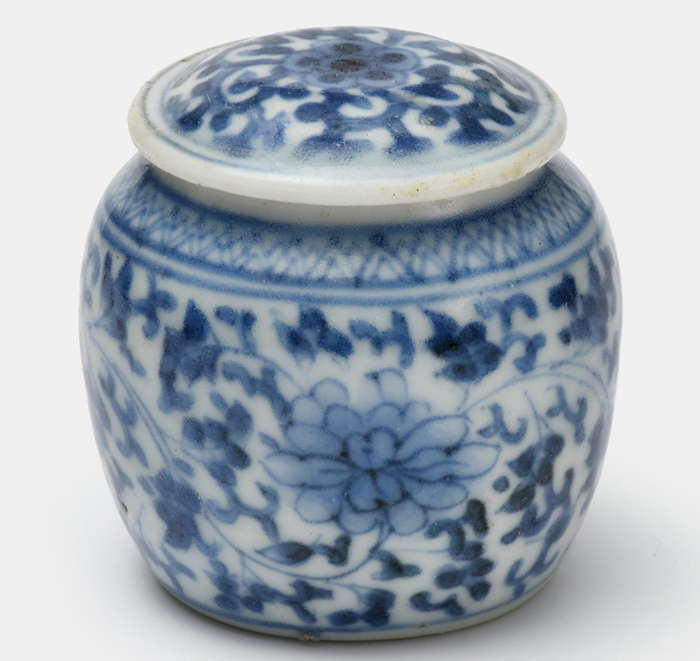 Princess Hwahyeop cosmetic container, ca. 1750
