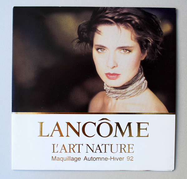 Lancome L'Art Nature postcard, 1992