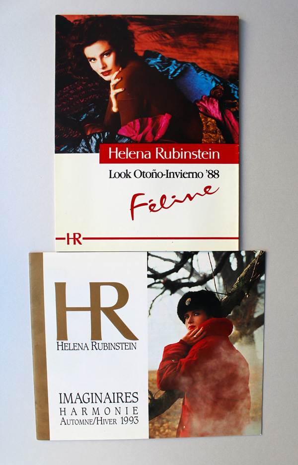Helena Rubinstein postcards, 1988