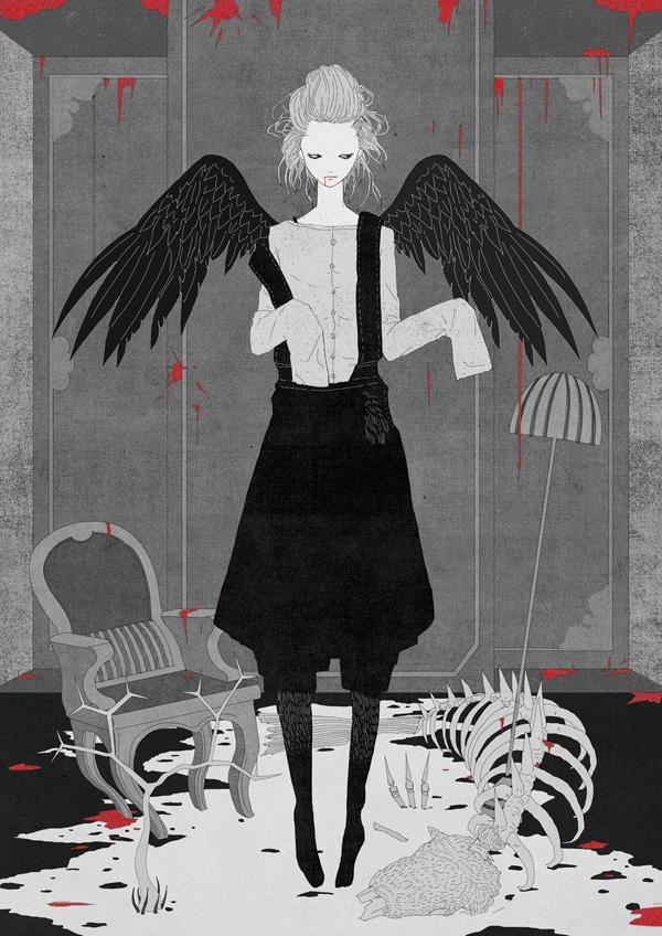 Kotaro Chiba, Winged Ghost, 2017