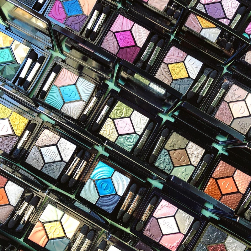Dior 5-Couleurs collection, Makeup Museum