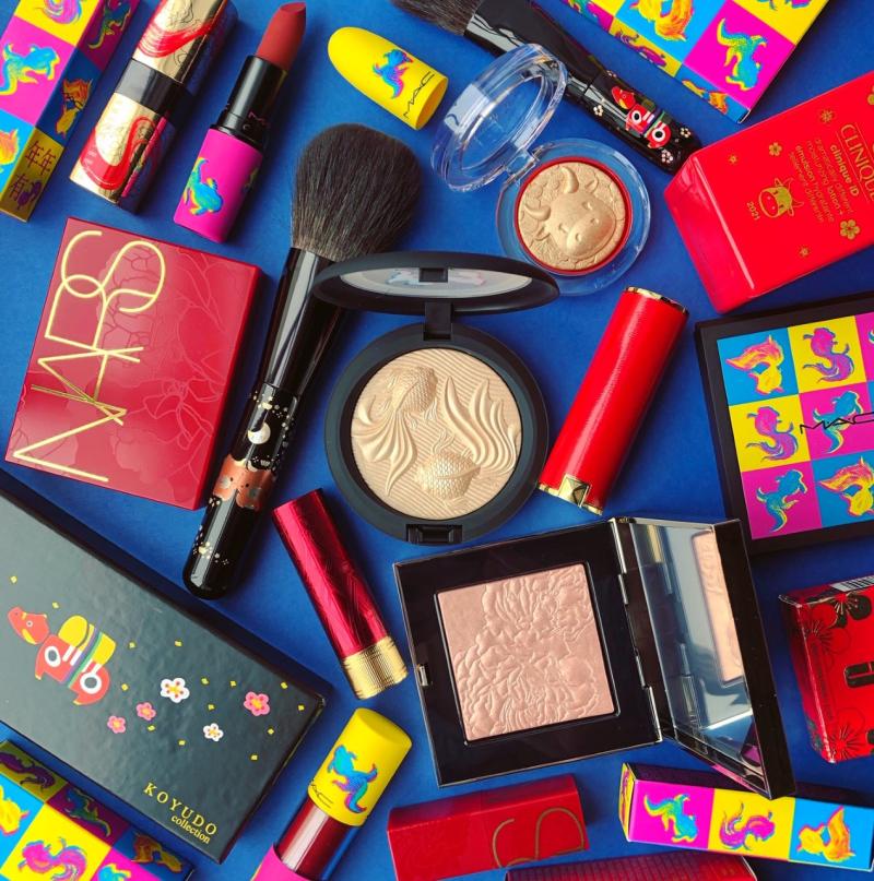 Lunar New Year makeup 2021