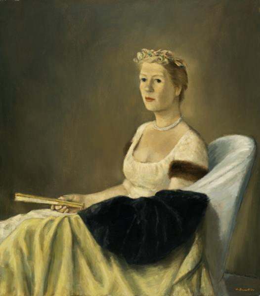 Alexander Brook, Portrait of Emily Wilson, 1954
