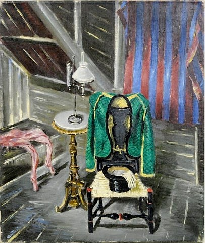 Channing Hare, Ringmasters Dressing Room, 1944