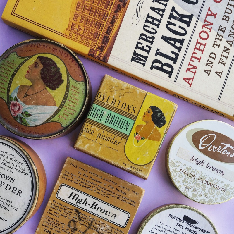Makeup Museum collection - Overton's