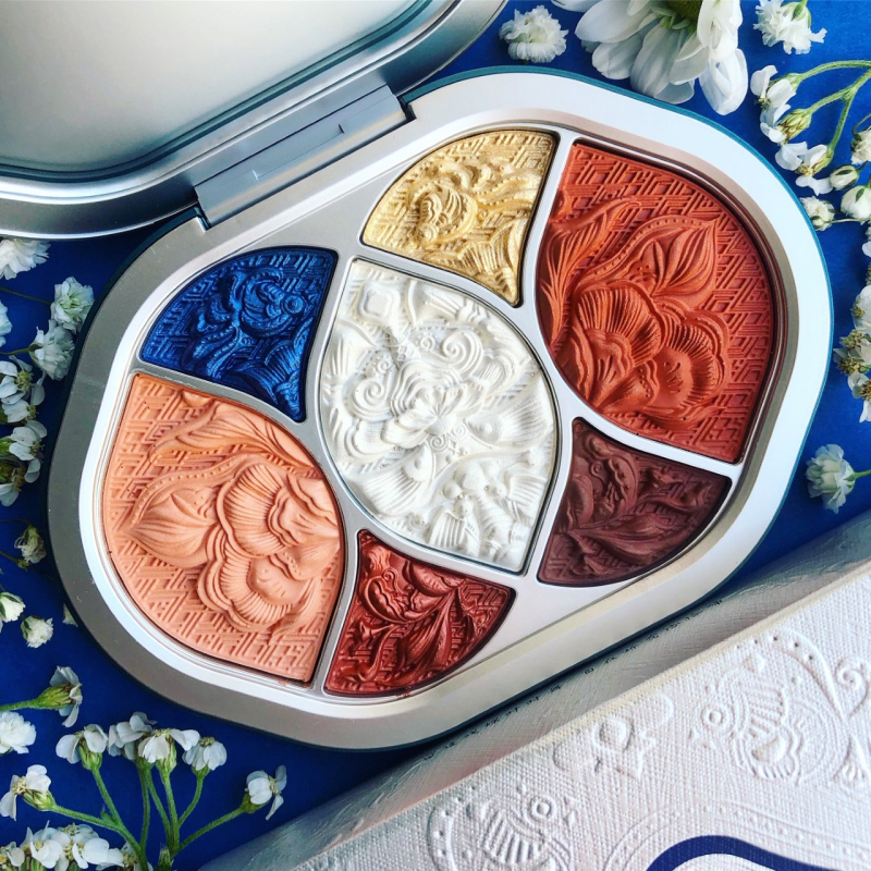 Makeup Museum collection - Florasis Miao palette