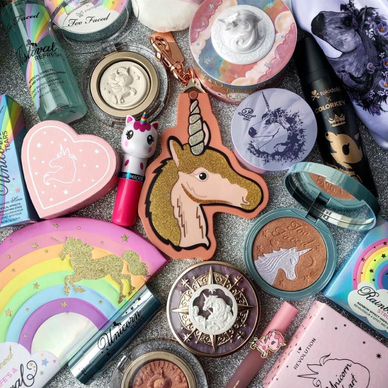 The Makeup Museum: Unicorn themed makeup