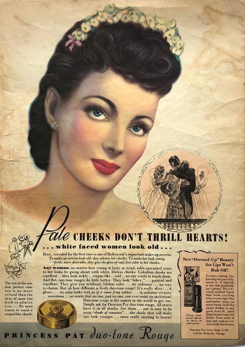 Princess Pat rouge ad, 1940
