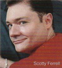 Makeup artist Scotty Ferrell