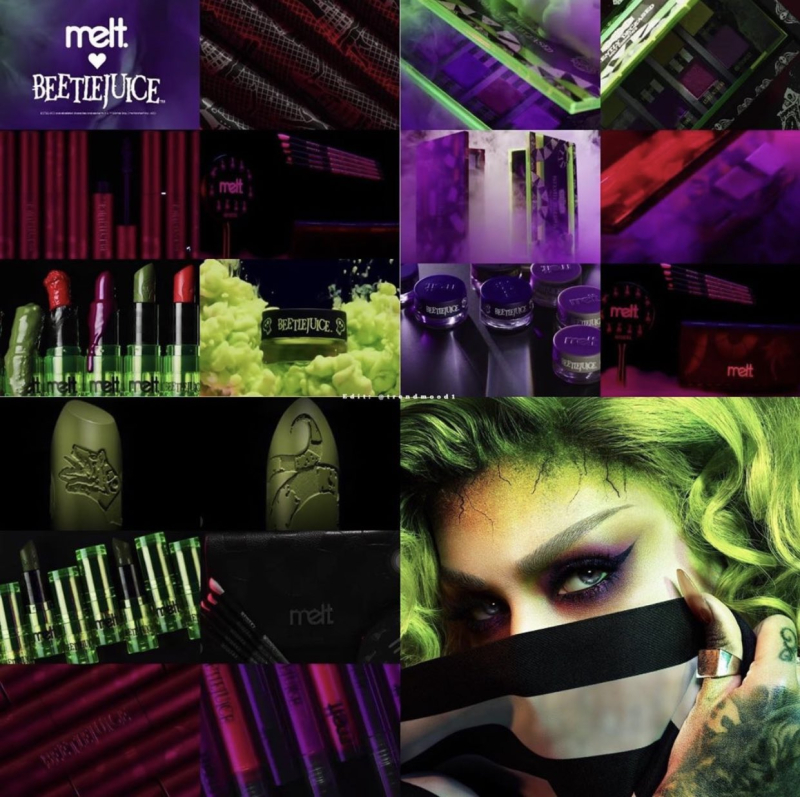 Melt Cosmetics Beetlejuice collection