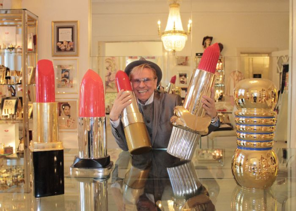 René Koch of the Lipstick Museum