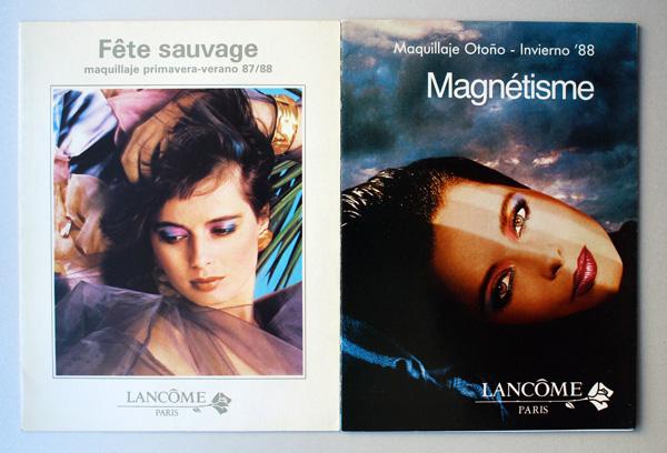 Lancome postcards, 1987-1988