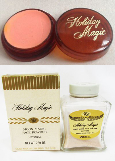 Holiday Magic cream blush and face powder