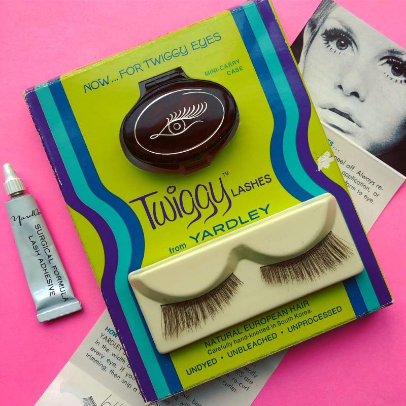 Twiggy lashes by Yardley